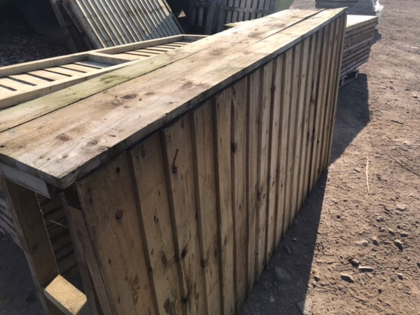 Rustic bar counter for sale