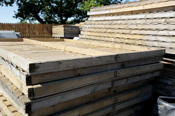 Used Ice Rink marquee sides wooden
