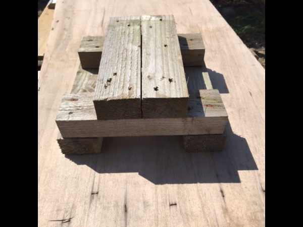 Wooden floor leveling blocks for sale