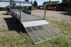 Ifor Williams LM166 with ramp