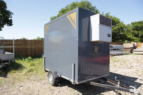 Secondhand Fridge trailer for sale