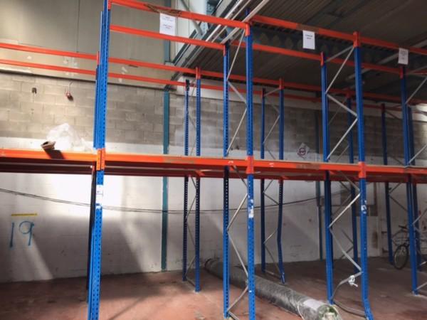 Secondhand pallet racking