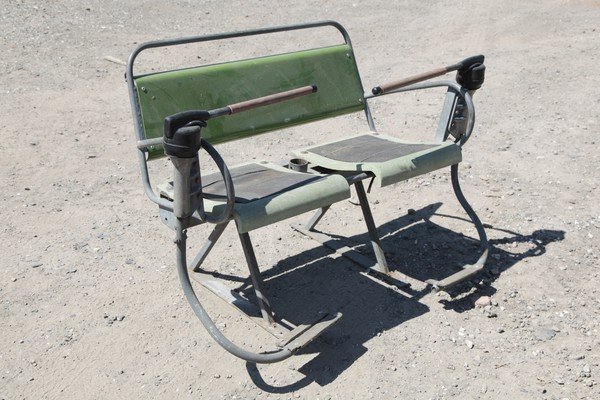 Vintage Ski lift chairs for sale