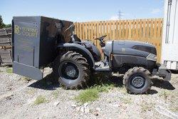 Olympia 500 with Kubota tractor