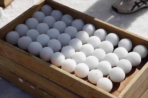 Yukigassen Snow balls