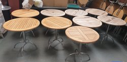 Round Outdoor Tables