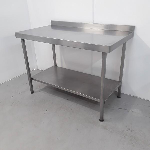 Used steel table