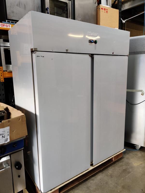 Large double door freezer