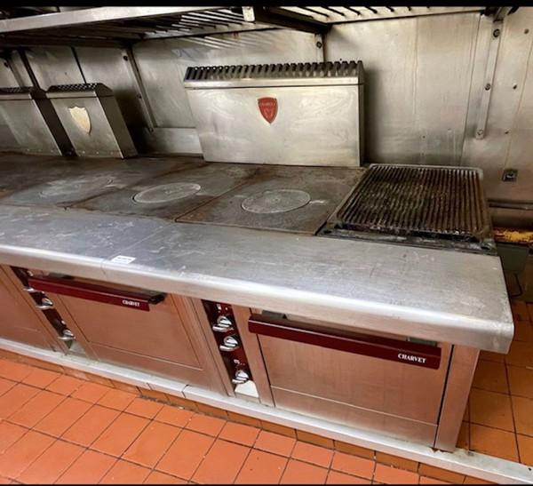 Ex Marco Pierre White Professional Charvet Cooking Range