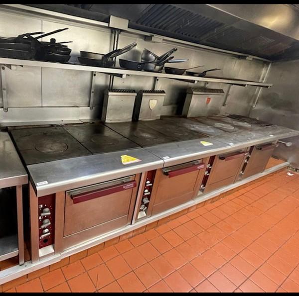 Ex Marco Pierre White London Professional Charvet Cooking Range