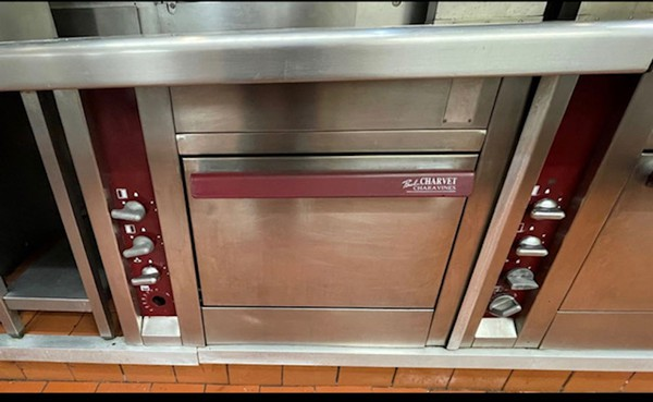 Professional Charvet Cooking Counter
