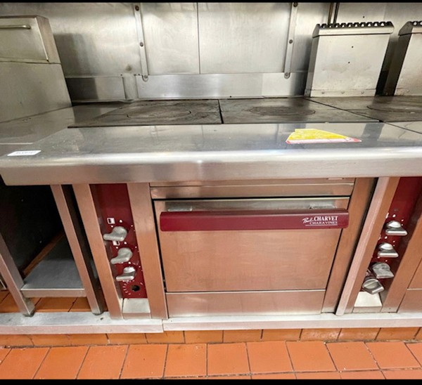 Professional Charvet Cooking Range