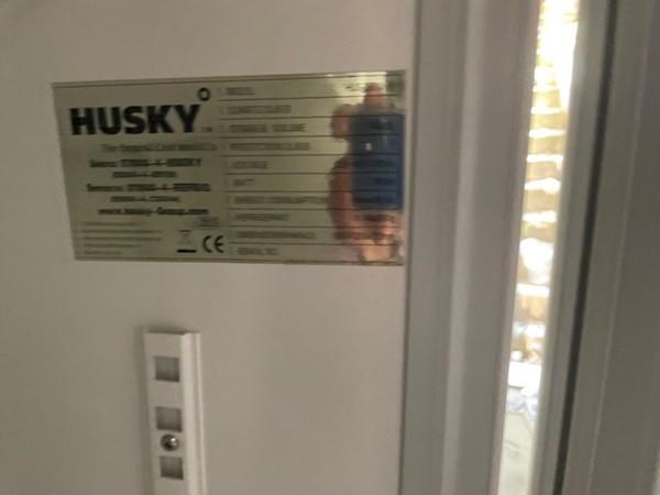 Used Huskey Double Door Display Fridge
