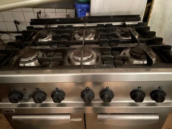 6 burner oven range
