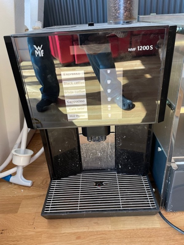 WMF 1200S Bean to Cup Coffee Machine
