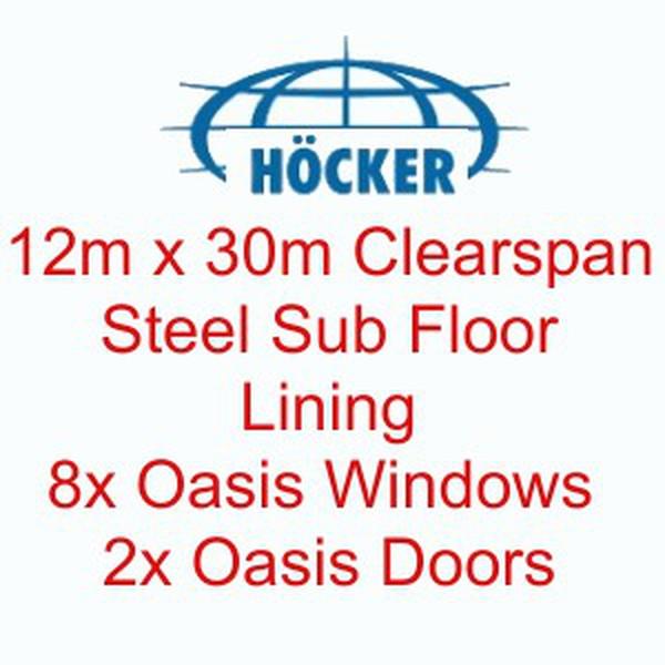 12m x 30m Höcker P Series Clear Span Marquee