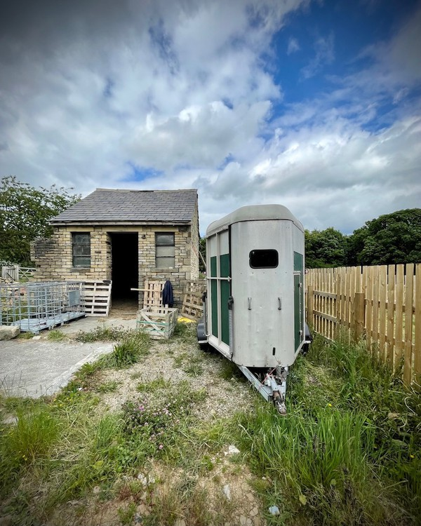 Converted Horse Box Bar Trailer for sale