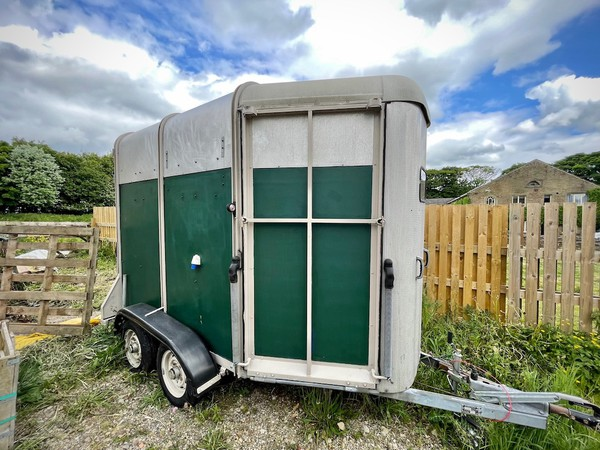 Converted Horse Box Bar Trailer