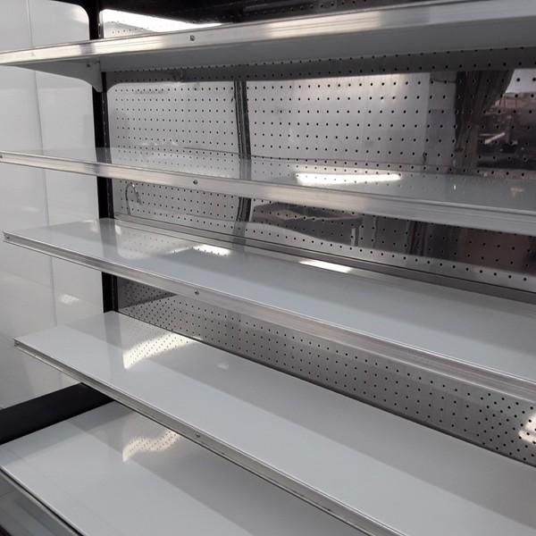 Canteen multi deck display fridge