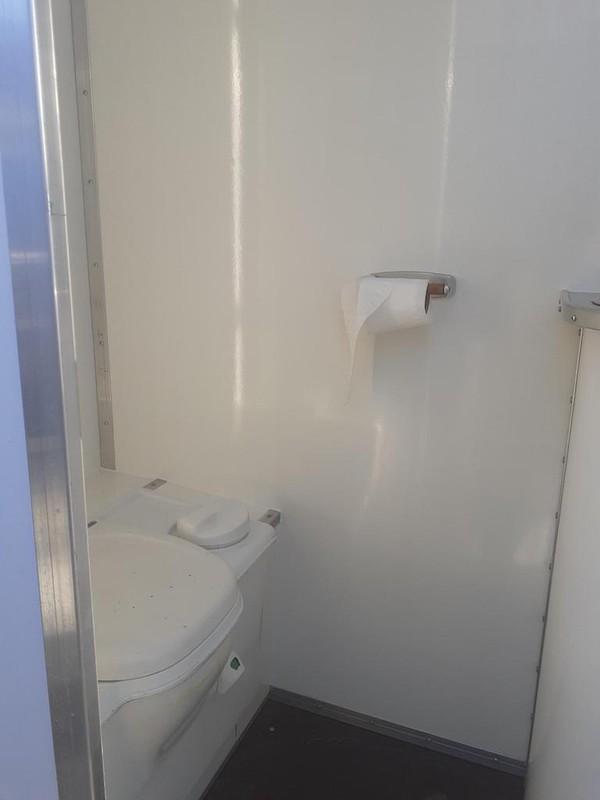 Mobile Bar Trailer Toilet