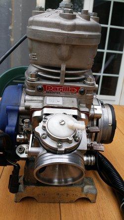 Parilla Reedster engine