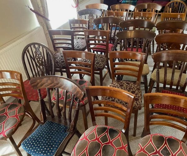 Mixed Dining Chairs Job Lot
