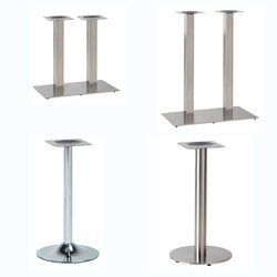 Chrome table bases for sale
