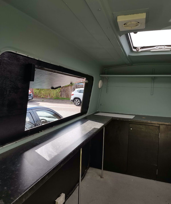 Secondhand food truck for sale