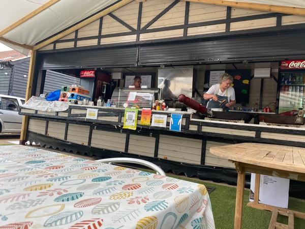 Catering kiosk for sale 23ft
