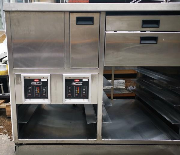 Heat Max soup kettle controles