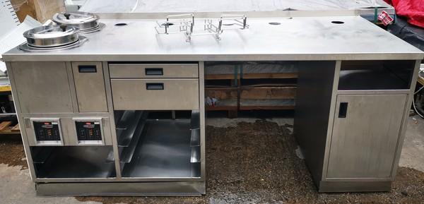 Soup station / prep table