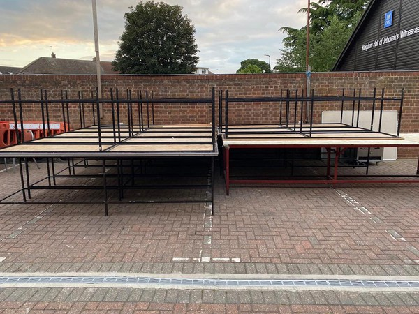 Large Standing Height Tables