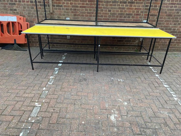 Heavy Duty Standing Height Tables