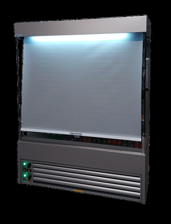 Night blind for multi deck fridge