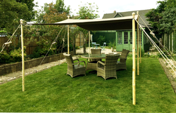 Garden marquee awning