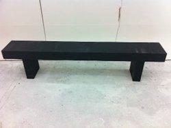 black bench