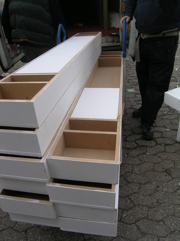 stacking benches