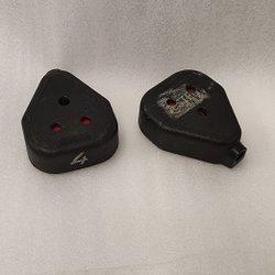 Black Rubber Duraplugs