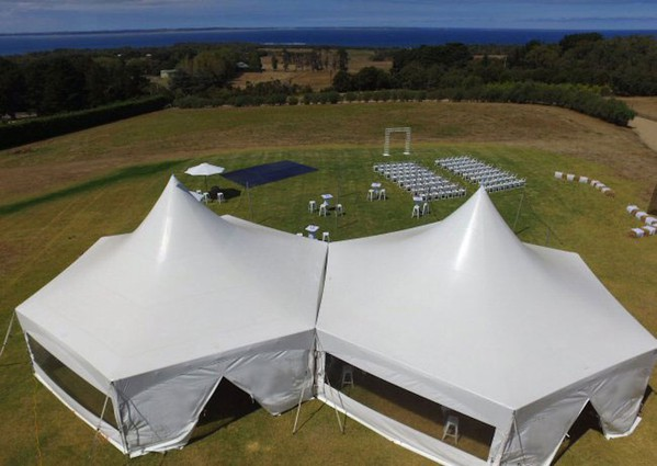 12m Hex Marquees