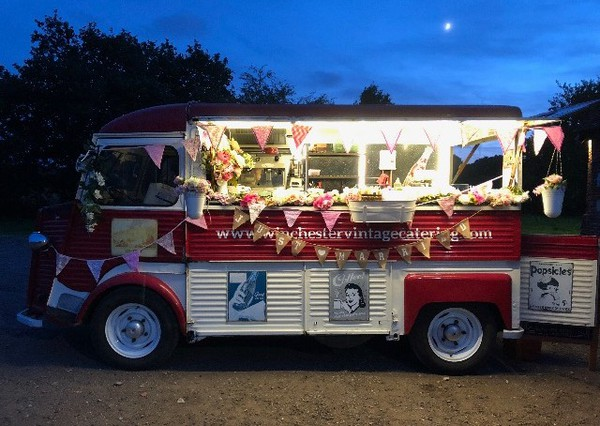 Crepe Food Truck - Citroen HY