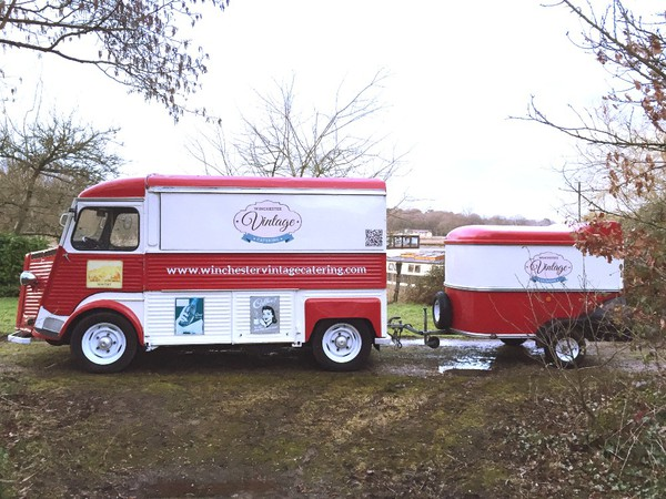 HY Citroen Catering Truck for sale