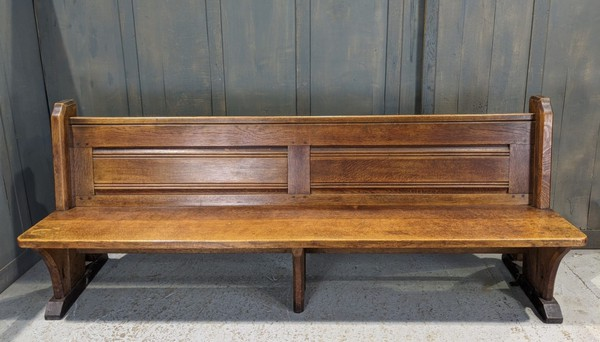 2.15m church pew for sale