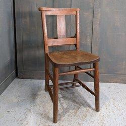 Extra Strong Elm & Beech 'Splatback' Church Chapel Chairs