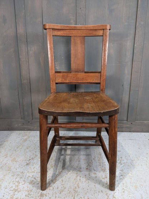 Splatback church chairs