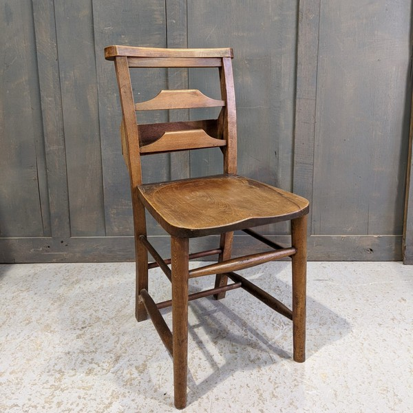 1930's chapel chairs for sale