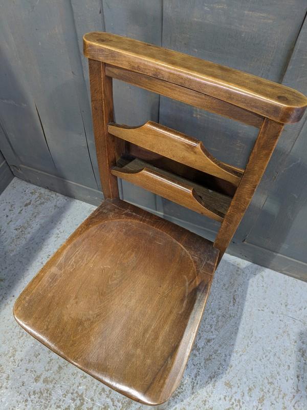 Ladder back church / chapel chair