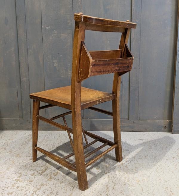 1890's Antique church chairs