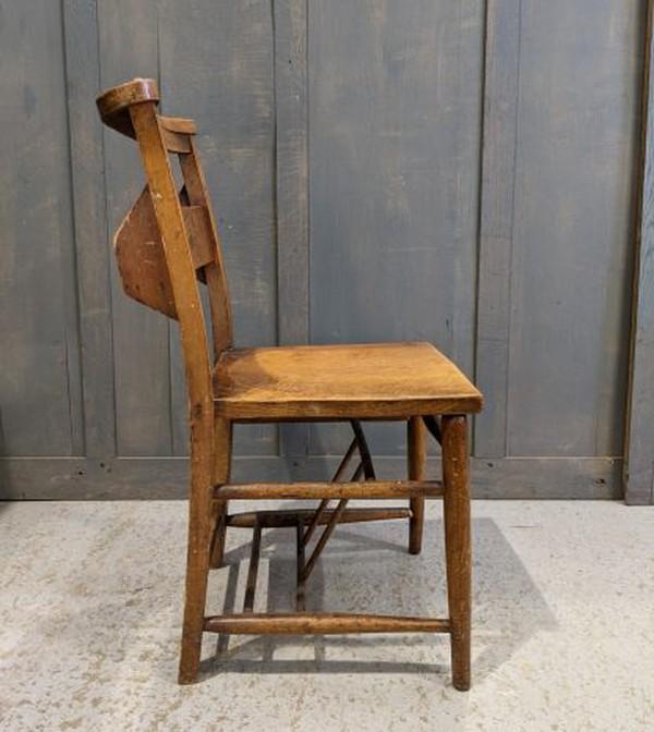 Elm chapel chairs