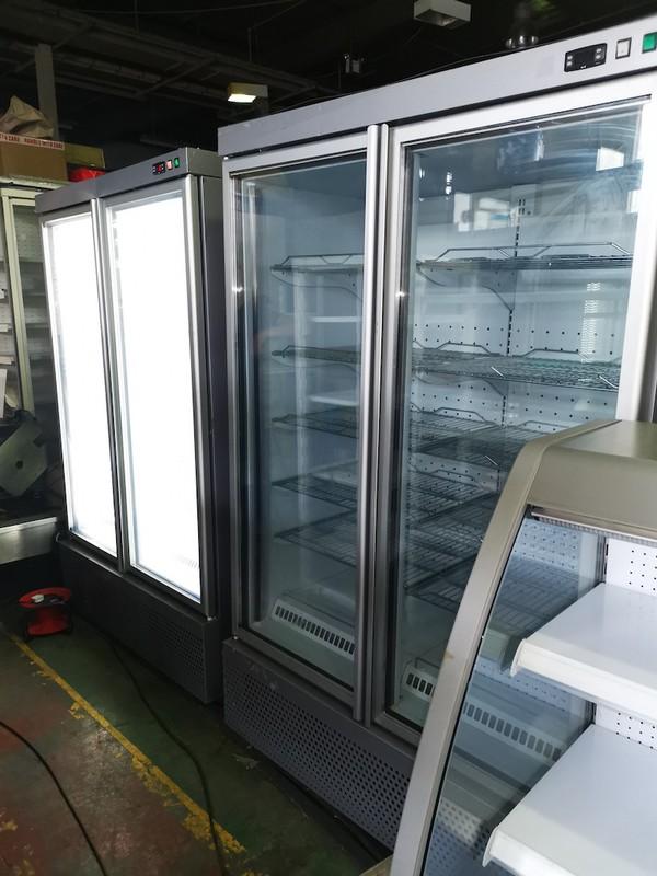 Double Door pright Display Freezer