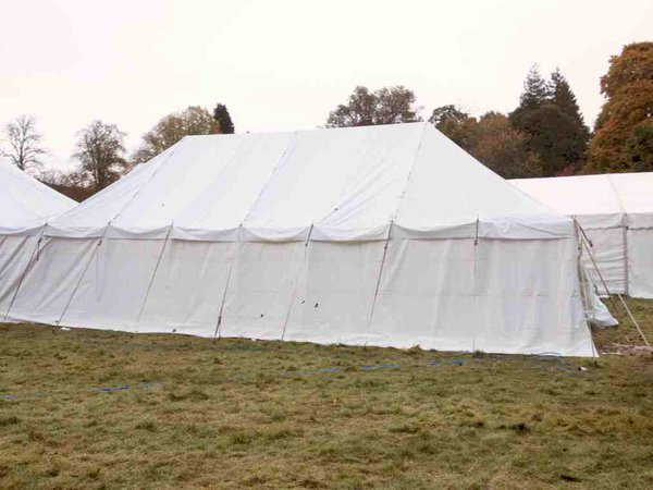 Traditional 20ft x 30ft Marquee for sale
